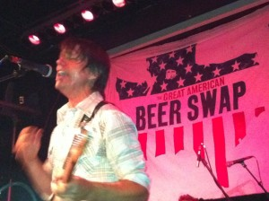 Ian Moore at the Tractor Tavern benefit for The Great American Beer Swap