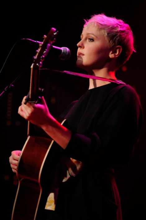 "Laura Marling sings ""Colorado Girl"".  Photo Credit to Scott Newton"